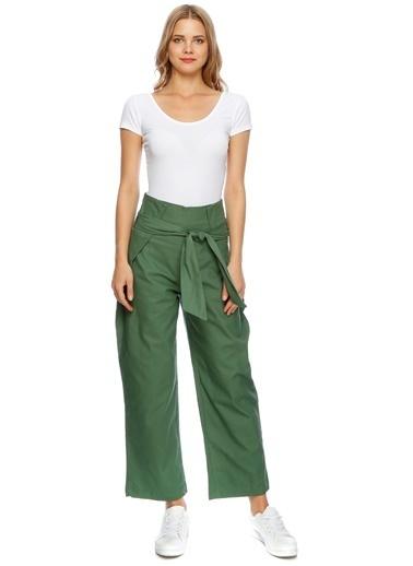 Cubic Pantolon Yeşil